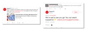 Oracle Tweets