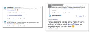 Tesco Mobile Tweets
