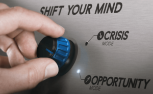Concept: learning from a crisis, shifting to opportunity