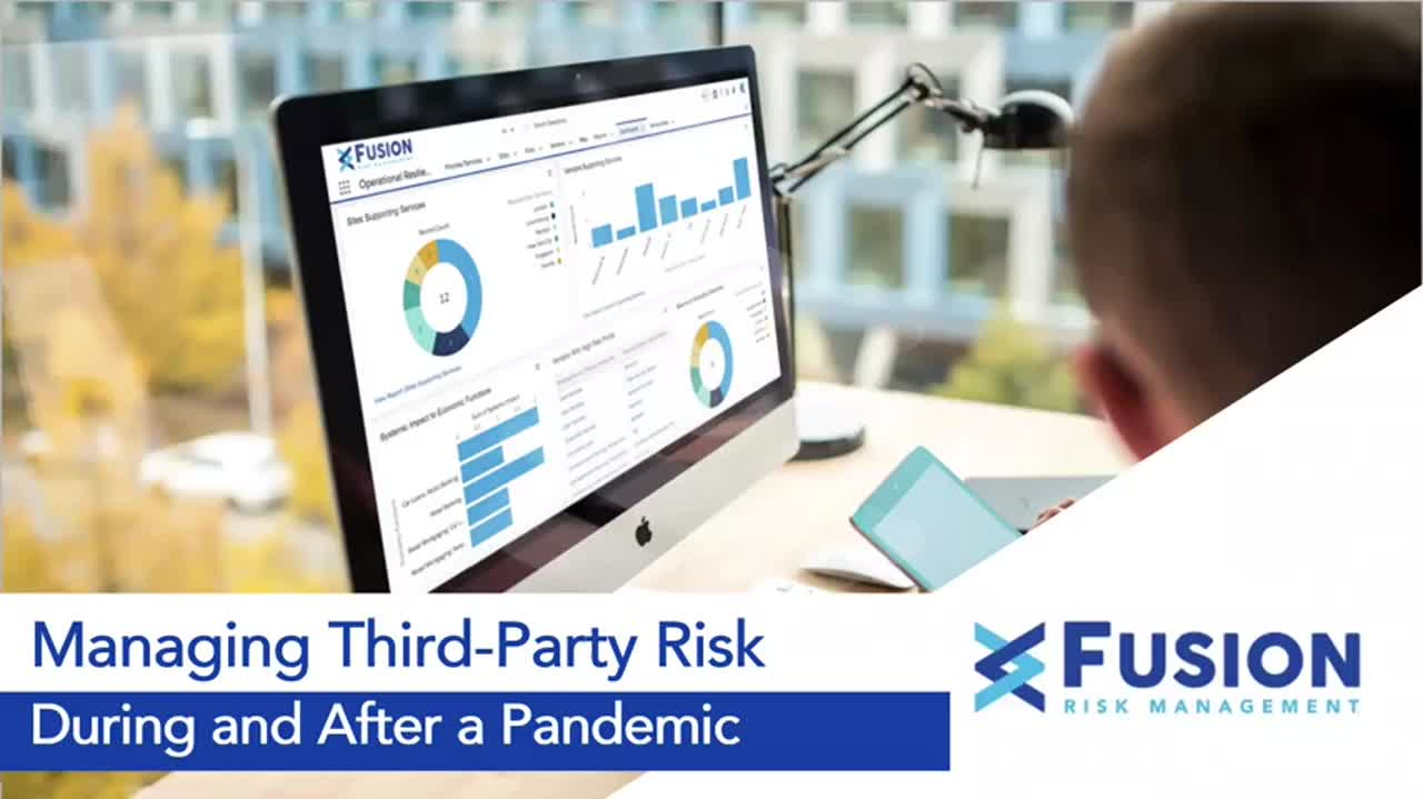 managing third-party risk during and after a pandemic