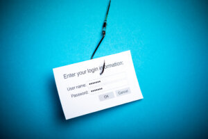 COVID-19 phishing activity data concept