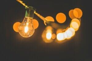 String of lights, concept, innovative ideas