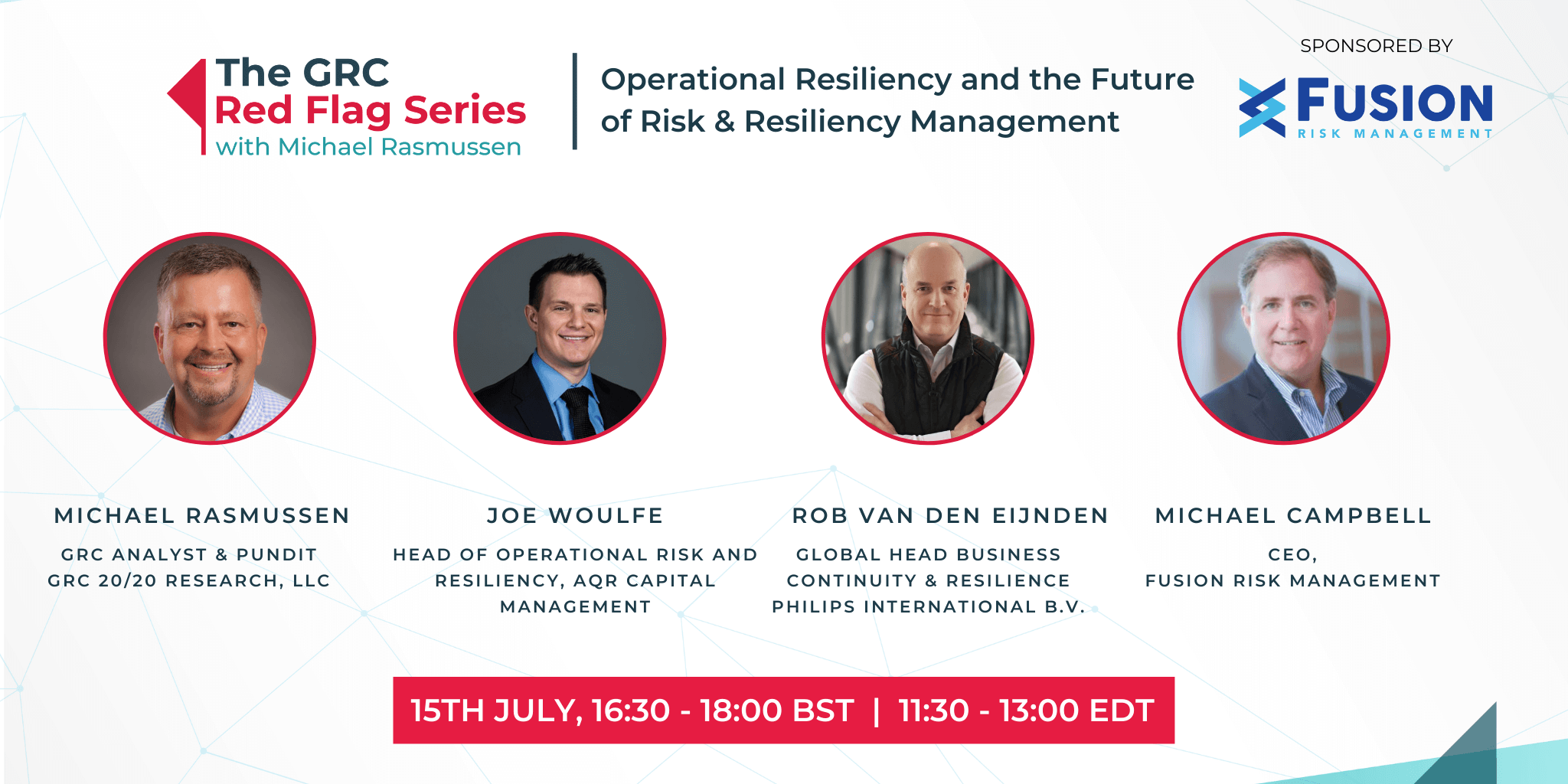 Operational Resiliency and the Future of Risk & Resiliency Management Image
